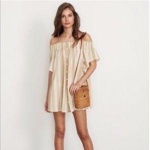 Faithfull the Brand Off The Shoulder Dress